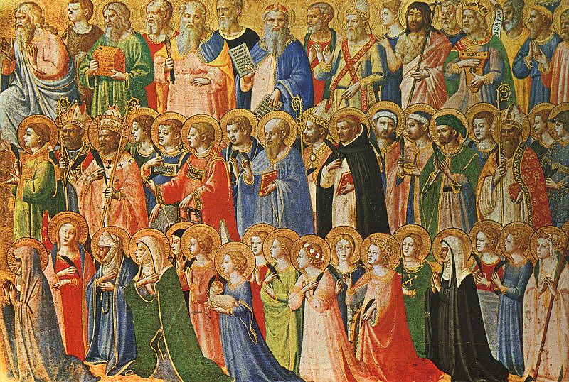 Image of the Forerunners of Christ with Saints and Martyrs (about 1423-24)
